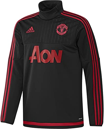 adidas Manchester United FC Official 201516 Training Top Adult BlackRed